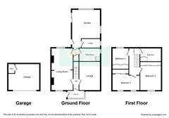 Floorplan 1 of 1 for Pen Y Banc, Mynyddbach