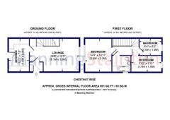 Floorplan 1 of 1 for 19 Chestnut Rise