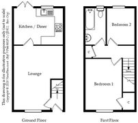 Floorplan 1 of 1 for 25 Clos Cae Mawr