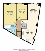 Floorplan 1 of 1 for Apartment 44, Morton Works, 94 West Street