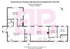 Floorplan 1 of 1 for Andridge Old Barn, Sprigs Holly Lane
