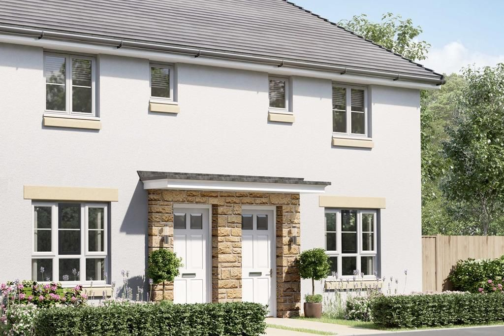 Property photo 1 of 7. External Image Of Semi-Detached 3 Bedroom Coull House Type