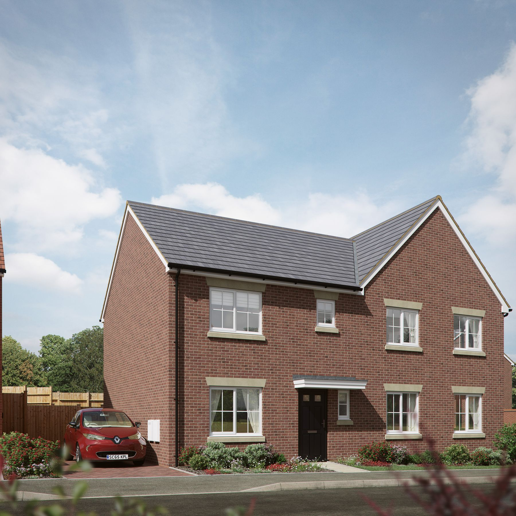 Property photo 1 of 8. The Sandpiper House Type CGI