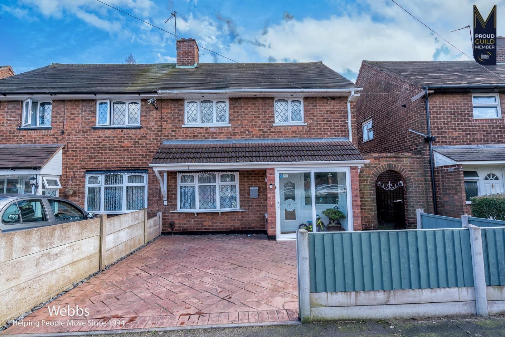 Property photo 1 of 21. 91, Gower Street, Walsall, Staffordshire, Ws2 9Az-