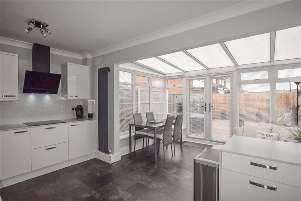 Property photo 1 of 15. Kitchen With Open Plan Conservatory