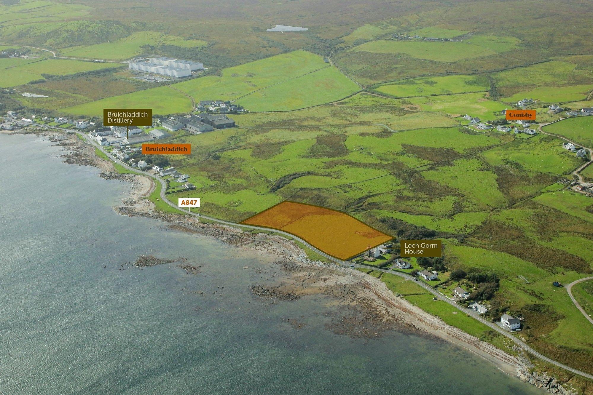 Property photo 1 of 5. Land West Of Loch Gorm House, Bruichladdich, Isle Of Islay Pa49 7Un