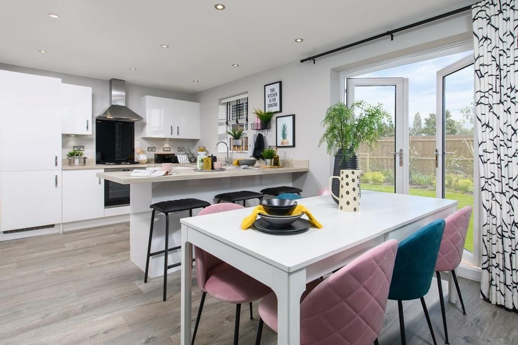 Property photo 1 of 8. Inside View 4 Bedroom Chester Dining Area With French Doors To Garden