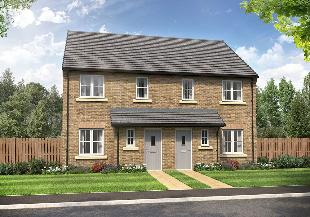 Property photo 1 of 12. External CGI Of 3-Bed Harper