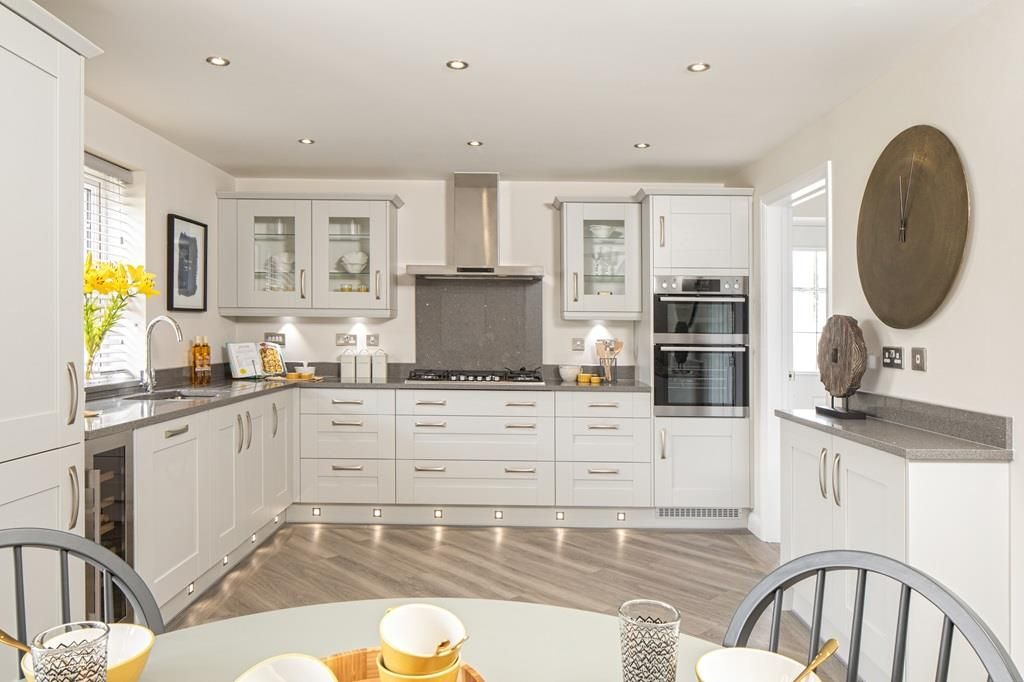Property photo 1 of 10. Open Plan Kitchen In The Chelworth 4 Bedroom Home
