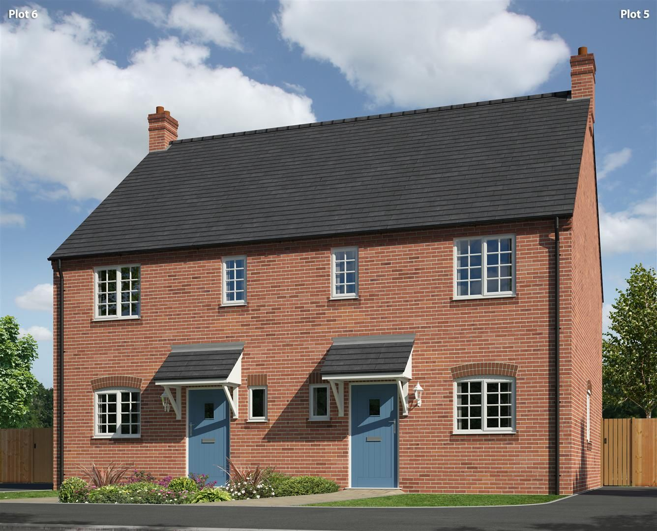 Property photo 1 of 3. Connexus - Welshpool Road, Ford - Plots 5 & 6 A 30