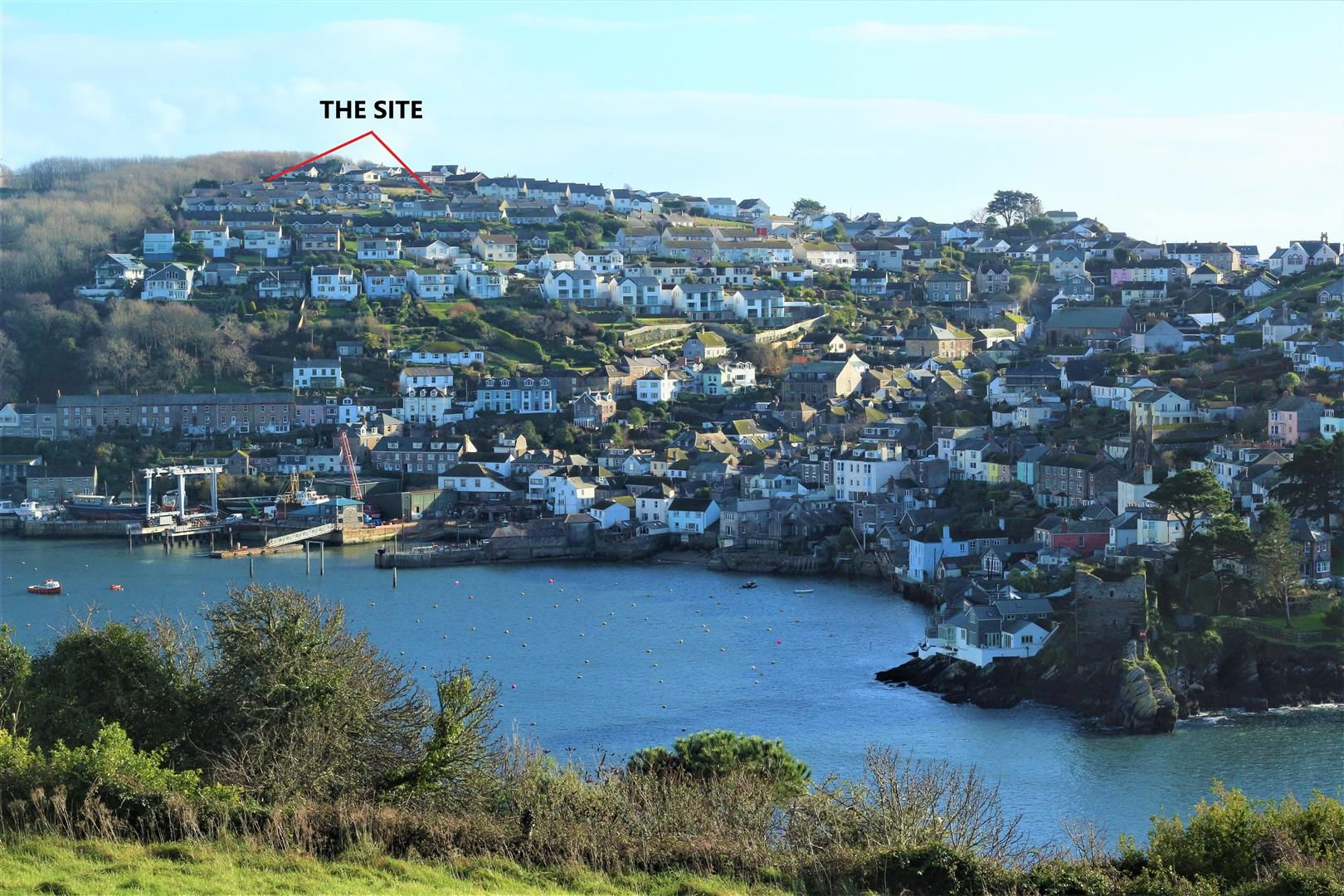 Property photo 1 of 11. The View, Polruan With Text .Jpg