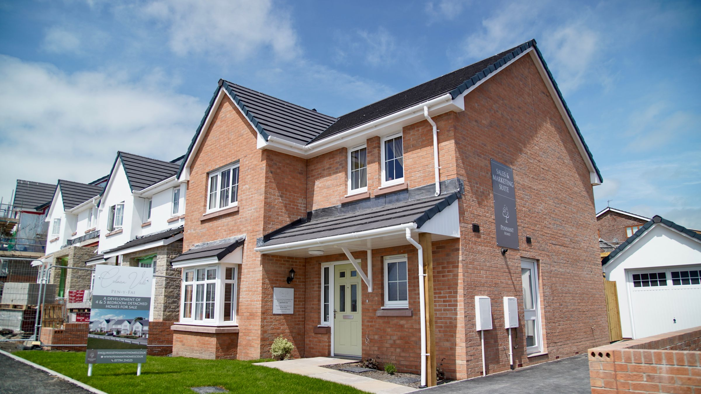 Property photo 1 of 10. The Show Home At Colman Vale, Pen Y Fai