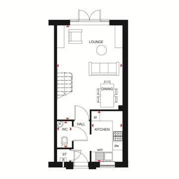Richmond Ground Floor Plan