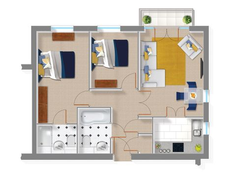 Floor Plan - The Wainwright