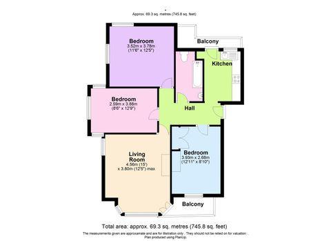 Floor Plan - 5 Hollywood Court.Jpg