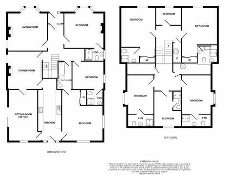 Floor Plan - Cameron House