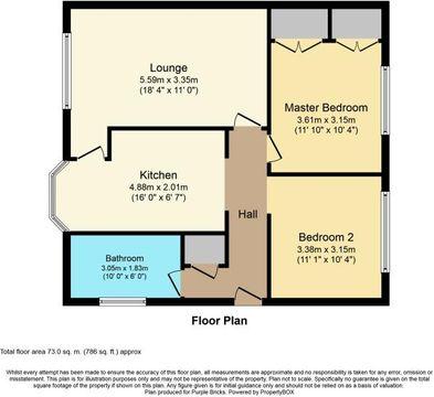 Denmilne Floorplan