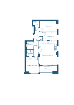 Lucent Point | Indicative 3 Bed Apartment
