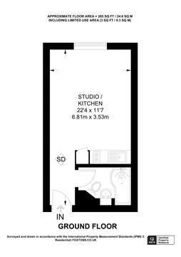 Floorplan - Representation Of Current Layout, Internal Floor Area Approx.
