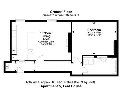 Fp Apartment 5 Leat House.Jpg