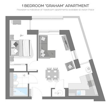 Bed One Floor Plan