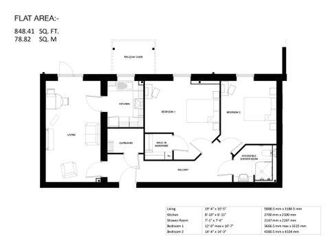 Floor Plan Property 10