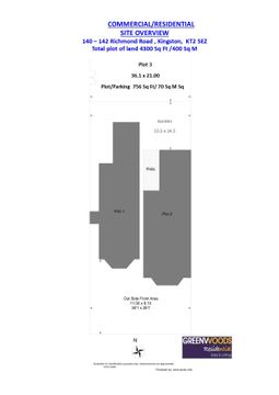 Overall Site Plan 140 142 Richmond Road