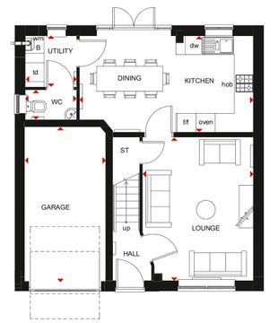Windermere Gf Floorplan