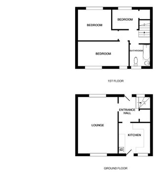Floor Plan - 22 Lewis Terrace, Dundee (1)