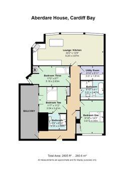 1 Aberdare House, Mount Stuart Square.Jpg