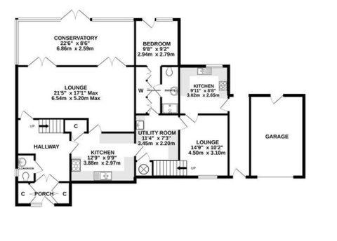 22 Belmont Road - Floorplan Main House.Jpg