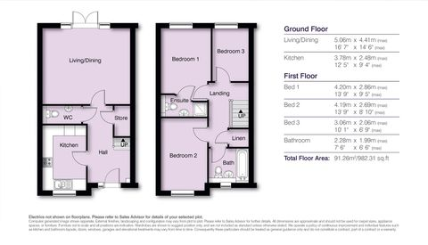Seymour Floor Plans