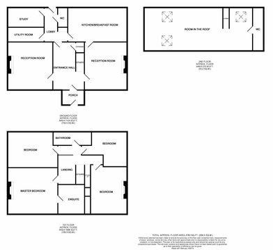 2D Fp West Farm House Ne20 9Tx.Jpg