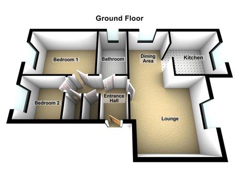 Fellowes Road, Fletton - Floor Plan