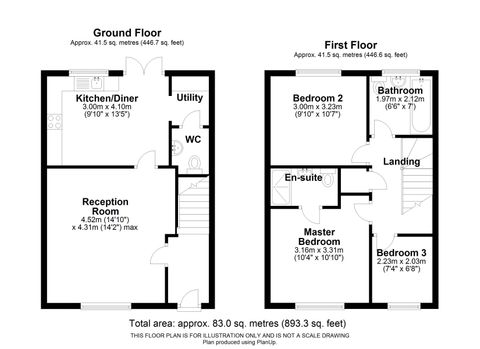 Floorplan- Vicarage Crescent