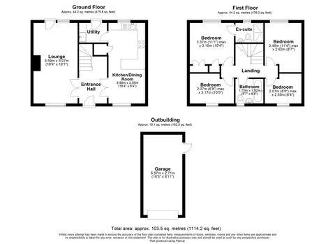 2 Badgers Oak. Floor Plan.Jpg