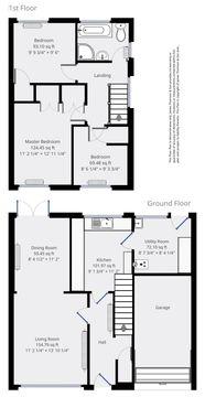 Floorplan - 52 Ardross Place, Glenrothes