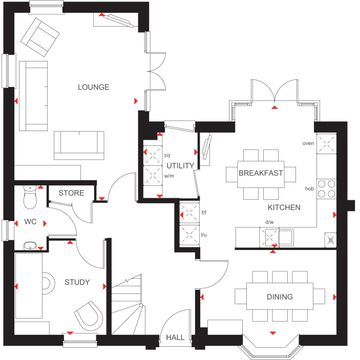 The Layton Ground Floor Plan -7