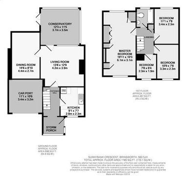 Sunnybank Floorplan