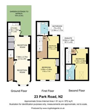 23 Park Road Floor Plan