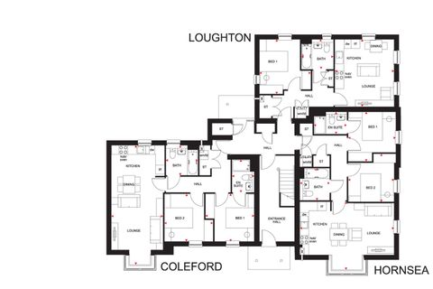 Coleford Hornsea Loughton