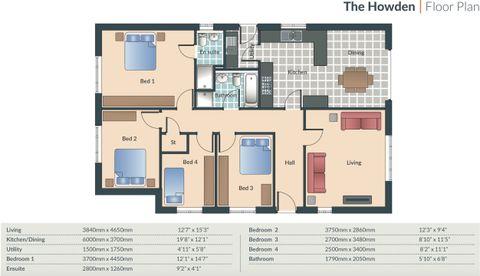 Howden Floor Plan