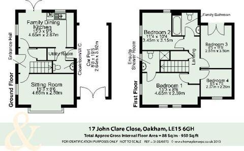 Oakham, 17 John Clare Close - Floorplan.Png