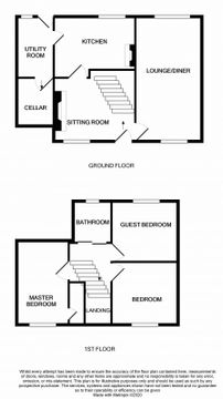 Manor Cottage Floorplan