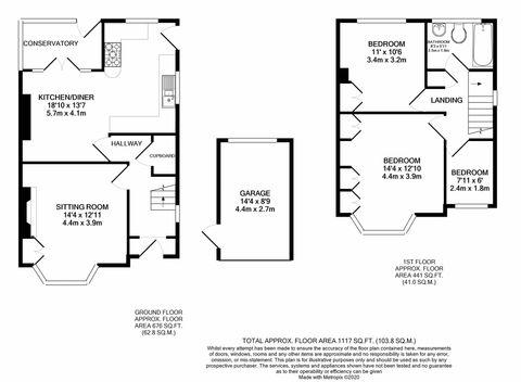 Daleside Floorplan