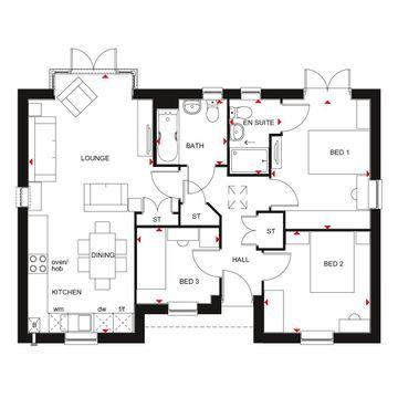 Bellbroughton Ground Floor Floorplan
