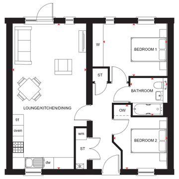 Rosefield Floorplan