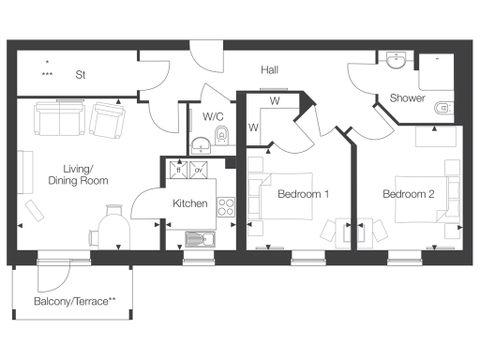 Property 12 - Show Flat