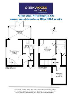 2d Floorplan Archer Close Greenwoods
