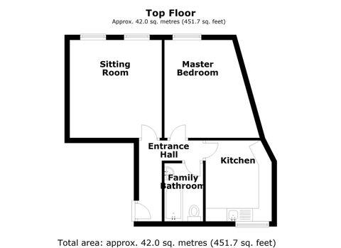 Flat 6, 80-92 Moorgate, Retford - Floor 0.Jpg
